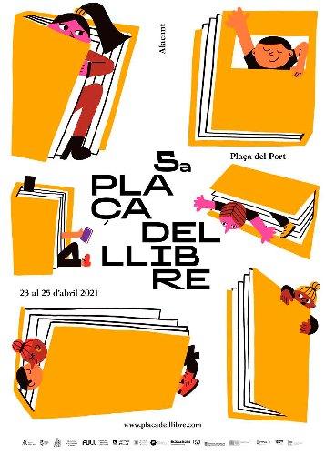 La Plaça del Llibre ompli Alacant de cultura segura
