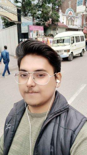Random click at Vaishno Devi Dham.