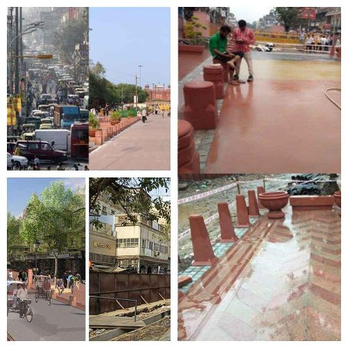 Preserving the Essence of Street Shopping: Redesigning Chandni Chowk