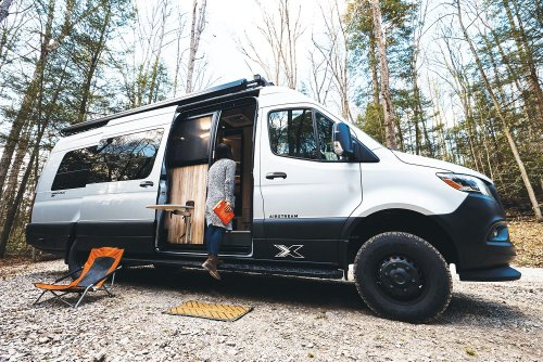 Airstream's New Rugged Adventure Van Is Perfect for Off-the-Beaten-Path Journeys