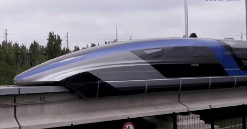 China Shows Off the World's Fastest Train