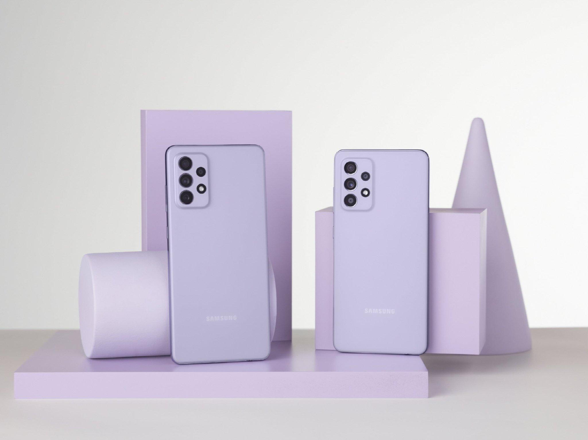 Samsung Unpacked: Meet the Galaxy A52 and A72