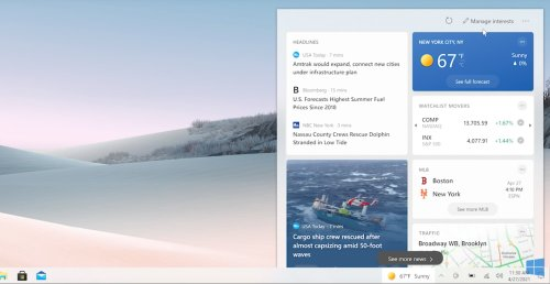 Microsoft's new taskbar puts your procrastination needs in one place | Trusted Reviews