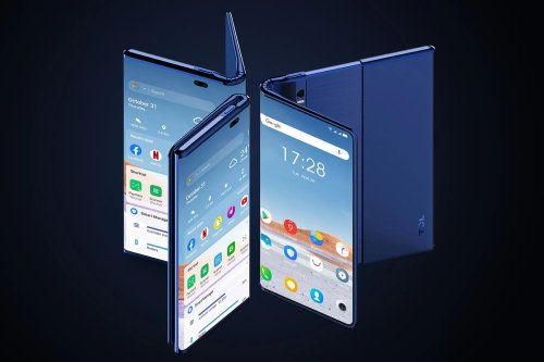 TCL shows off wacky take on foldable phones that just might work | Trusted Reviews