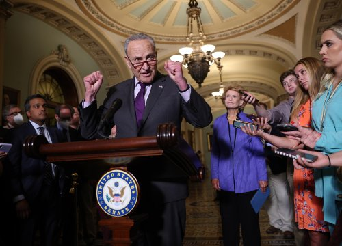 After Weeks of Wasted Time, Senate Democrats Demand Action on Infrastructure
