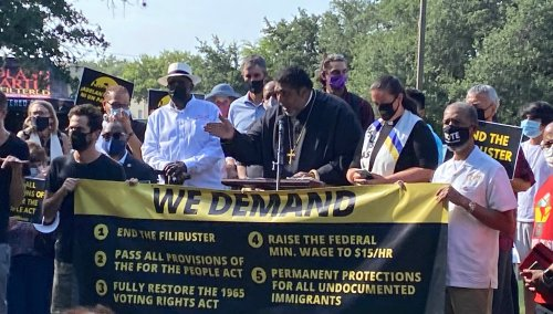 """Poor People's Campaign Embarks on 27-Mile """"March for Democracy"""" in Texas"""