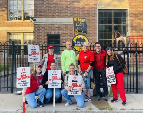 Buffalo Health Care Workers Are on Strike for Better Wages and Patient Safety