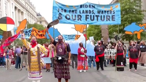 Over 530 Arrested in Historic Indigenous-Led Climate Protests in DC