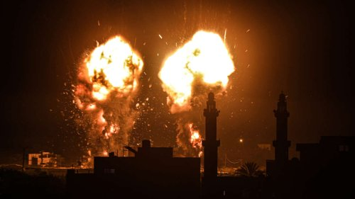 """New Israeli Government Bombs Gaza After Far Right Chants """"Death to Arabs"""""""