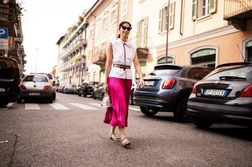 Colours Sequins Ablaze Milan Fashion Week