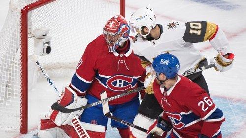 Nicolas Roy Vegas Golden Knights beat Montreal Canadiens overtime Game 4 - TSN.ca