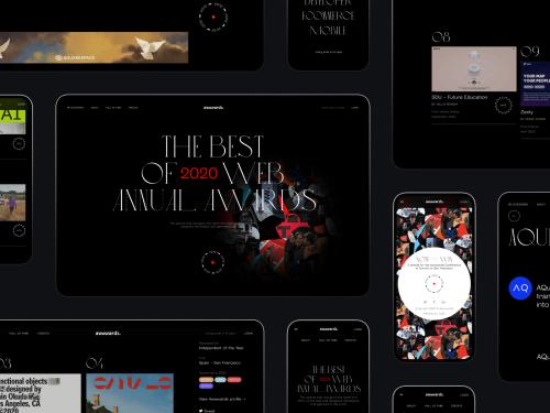 Case Study: Annual Awwwards Website Design