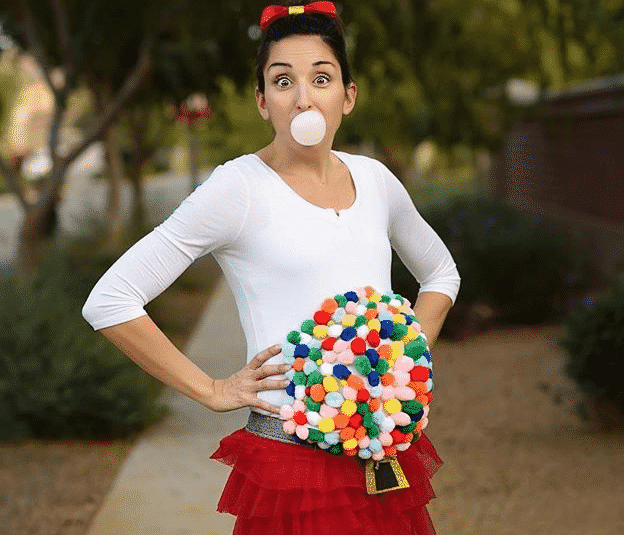 Easy And Hilariously Funny Pregnant Halloween - cover