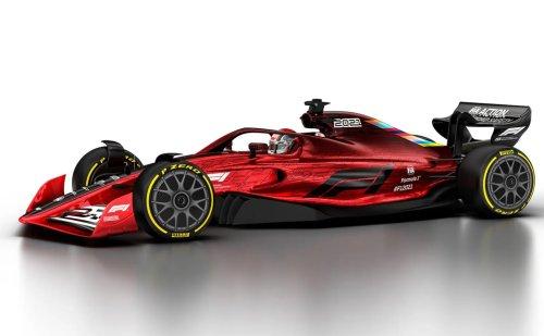 Formule 1 2022 : premières images des futures monoplaces