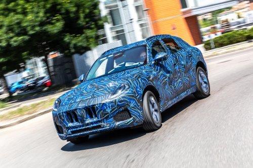 Maserati Grecale : premières images du futur SUV encore camouflé
