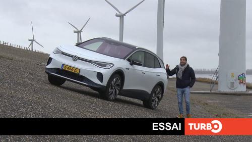Volkswagen ID.4, l'électrique des familles - Essai TURBO du 04/04/2021