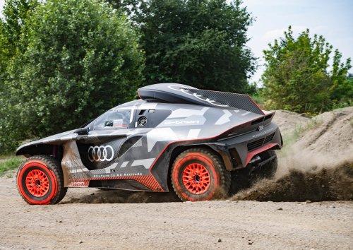 Le nouveau monstre hybride d'Audi qui veut écraser le Dakar