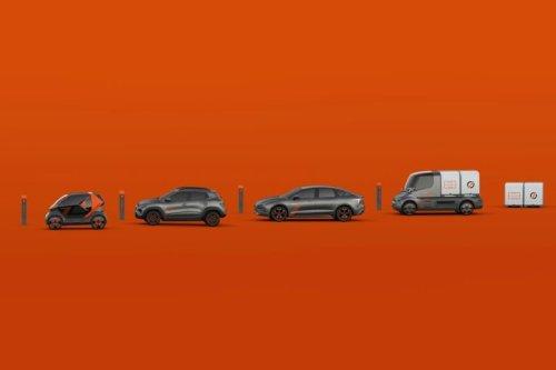 Mobilize de Renault va dévoiler des modèles pour l'auto-partage nommés Duo, Limo, Bento et Hippo