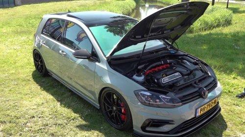 VIDEO : la Golf qui a mangé une RS3