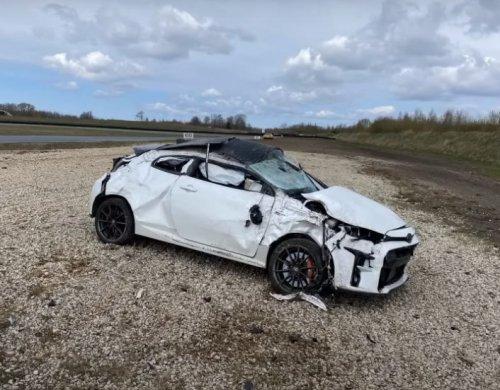 VIDEO – Comment massacrer une Toyota GR Yaris sur circuit