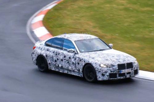 VIDEO – La future BMW M3 CS déjà en train de s'entraîner sur le Nürburgring