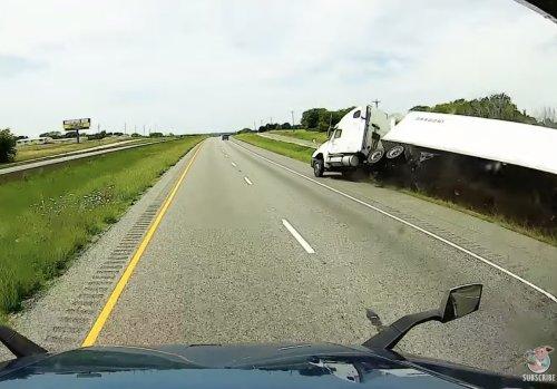 VIDEO - Les dangers de la vie de chauffeur de camion