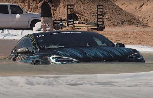 VIDEO – Cette fois, la Tesla Model S sous-marin a marché