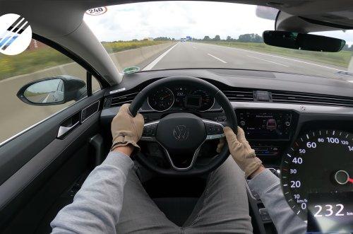 VIDEO - Sur l'autoroute, il atteint 232 km/h avec un diesel de seulement 150 ch