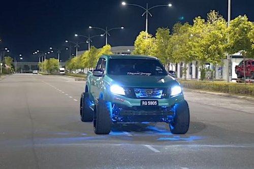 PHOTOS - Le Nissan Navara le plus cool du monde en images
