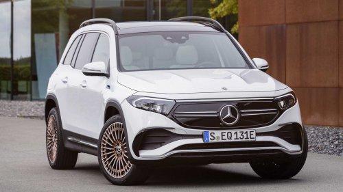 PHOTOS - Mercedes EQB (2021), le nouveau SUV 100% électrique en images