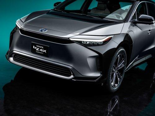 PHOTOS - Toyota bZ4X Concept, le futur SUV 100% électrique de Toyota ressemblera à ça !
