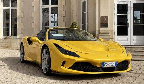 VIDEO - A fond sur le circuit de Dijon-Prenois en Ferrari F8 Spider pendant notre essai