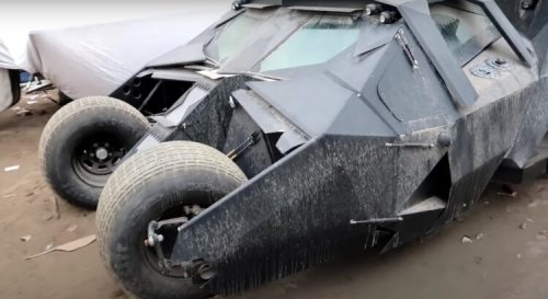 La Batmobile du film « The Dark Knight » a été retrouvée à Dubaï
