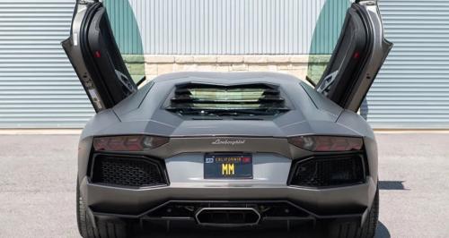 Pour 20 millions d'euros, vous n'aurez que la plaque (sans la Lamborghini)