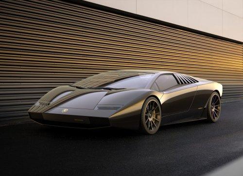 PHOTO - Lamborghini Countach 50 Omaggio, la supercar parfaite ?