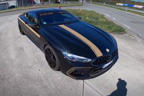VIDEO – Une BMW M8 Manhart explose tout sur l'autoroute à plus de 300 km/h