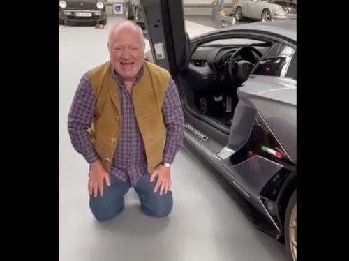 VIDEO - Utiliser une Lamborghini vous met parfois dans des positions ridicules
