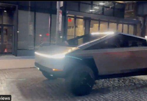VIDEO - Le Tesla Cybertruck choque les habitants de New-York