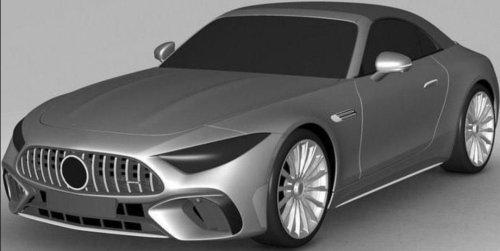 Le futur Mercedes SL (2022) déjà en fuite