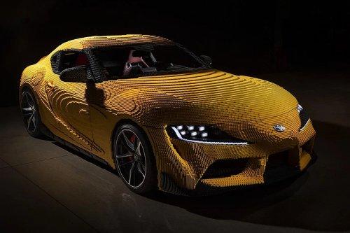 500.000 pièces LEGO pour une Toyota GR Supra entièrement fonctionnelle