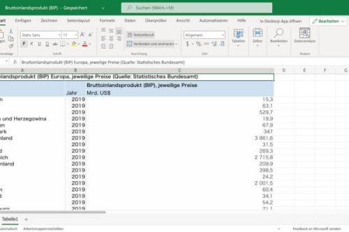 Excel sortieren: So ordnest Du Deine Tabellen