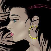 How to Illustrate Dynamic Hair Using Adobe Illustrator's Paintbrush Tool