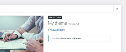 How to Make a Child Theme in WordPress