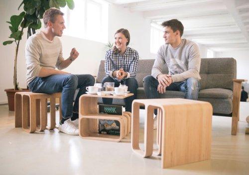 Woodieful Chair – Multifunction, Modern Slovenian Designed Furniture
