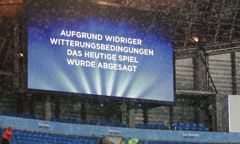 Kuriose Spielabbrüche in der 1. Fußball-Bundesliga