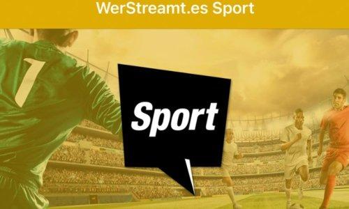 """Wo läuft Fußball? """"WerStreamt.es? Sport"""" hat die Antwort"""