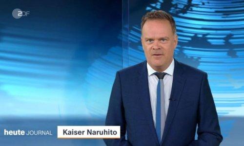 "Falscher Kaiser: Witzige Panne im ZDF-""heute journal"""