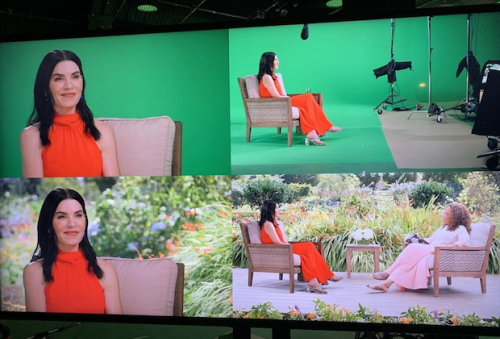 Julianna Margulies Reveals That Her 'In-Person' Oprah Interview Was Actually Done Using Green Screen