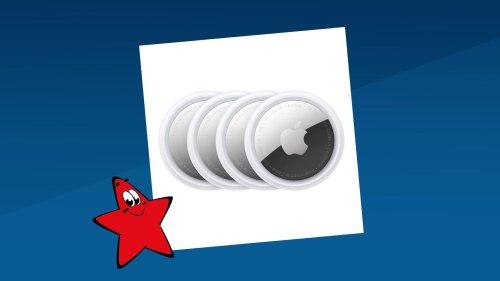 Apple Airtag: Vier Airtags unter 100 Euro – Jetzt noch günstiger!