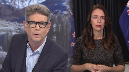 Jacinda Ardern challenged by John Campbell about how much money public sector pay freeze will save